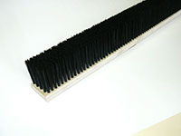 Tufted Strip and Plate Brushes - Tufted Strip Brush Multi Row