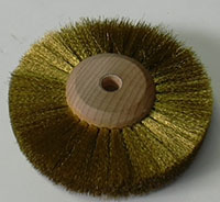 Brass Satin Finish Brush