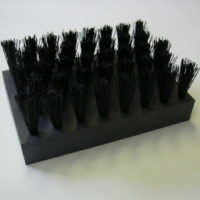 Industrial Flat & Handle Brushes - Plate Glass Transport