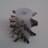 Industrial Special Brushes - Stainless Steel Wire Spiral Pattern