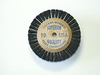 1-7/8 Inch (in) Hub Diameter and 1/2 Inch (in) Trim Size Superior Quality Jewelers Polishing Brush (1B)