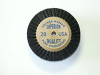 1-7/8 Inch (in) Hub Diameter and 1/2 Inch (in) Trim Size Superior Quality Jewelers Polishing Brush (2B)