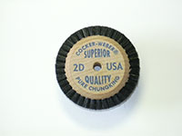 1-7/8 Inch (in) Hub Diameter and 1/4 Inch (in) Trim Size Superior Quality Jewelers Polishing Brush (2D)
