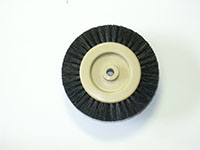 2 Inch (in) Hub Diameter and 5/8 Inch (in) Trim Size Plastic Hub Jewelers Polishing Brush