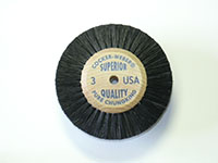 1-7/8 Inch (in) Hub Diameter and 3/4 Inch (in) Trim Size Superior Quality Jewelers Polishing Brush (3)