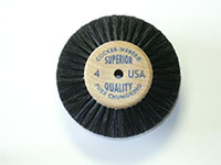 1-7/8 Inch (in) Hub Diameter and 3/4 Inch (in) Trim Size Superior Quality Jewelers Polishing Brush (4)