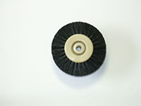 1-1/4 Inch (in) Hub Diameter and 5/8 Inch (in) Trim Size Plastic Hub Jewelers Polishing Brush