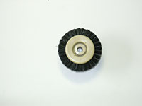 1-1/4 Inch (in) Hub Diameter and 3/8 Inch (in) Trim Size Plastic Hub Jewelers Polishing Brush