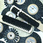 Standard Dental Wheel Brushes - Laboratory